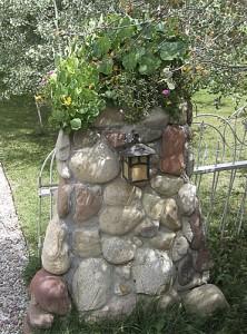 Casa Camilla Aspen Vacation Rental stone gate