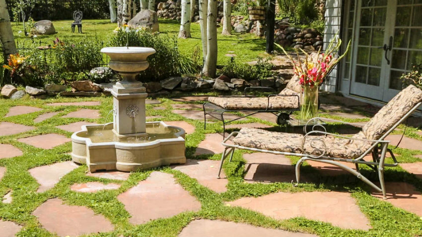 Casa Camilla Aspen Tropical Apartment exterior fountain