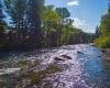 Casa Camila Vacation Rentals Aspen Colorado stream up river